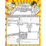 Fill Me In: Student Superhero, Pack of 32