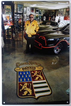 Bill Hines Torres Man Cave Retro Automotive Classic Metal Sign PT6