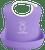 Soft Bib [Purple]
