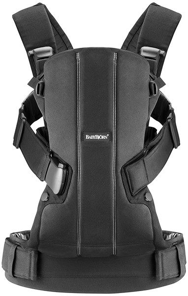 Baby Carrier WE [Black Cotton]