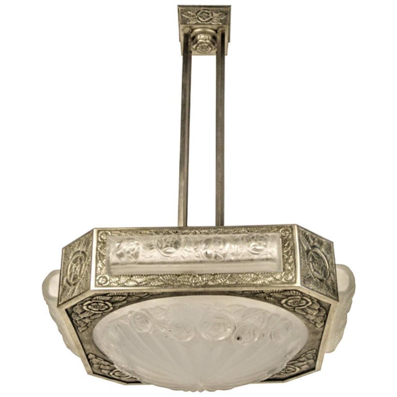 Photophore lumignons Support chandeliers Chandeliers Teelichtglas rose shabby deco