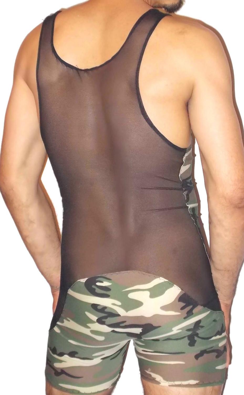 Mesh Camouflage Singlet
