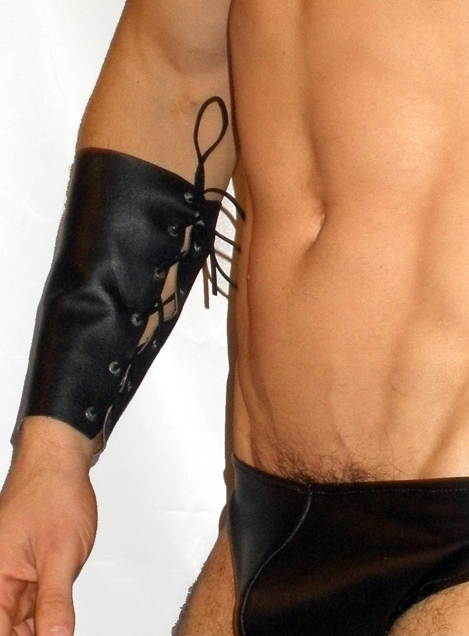 leather gauntlet