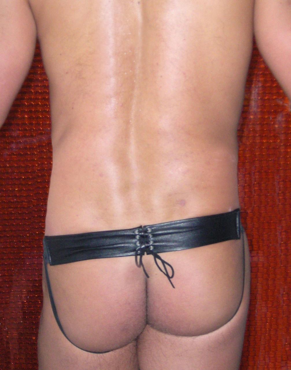 Jocks By RJ Lace Back Leather Jockstrap