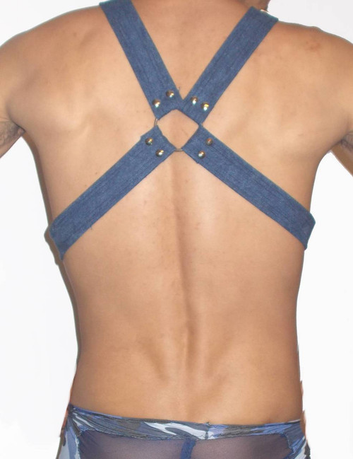 X Denim Harness