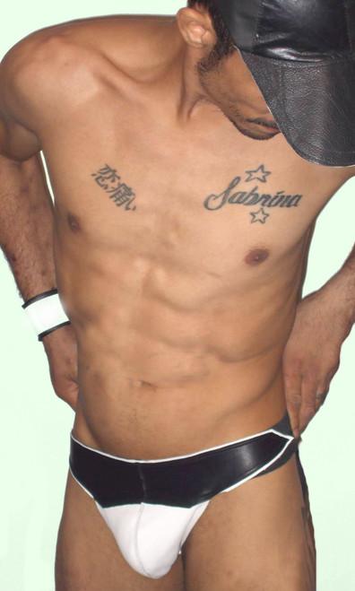 gotham leather jock