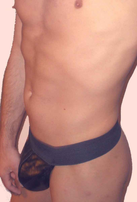 Jocks By RJ Strapless Pouch Leather Jockstrap