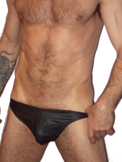 adjustable all leather jock