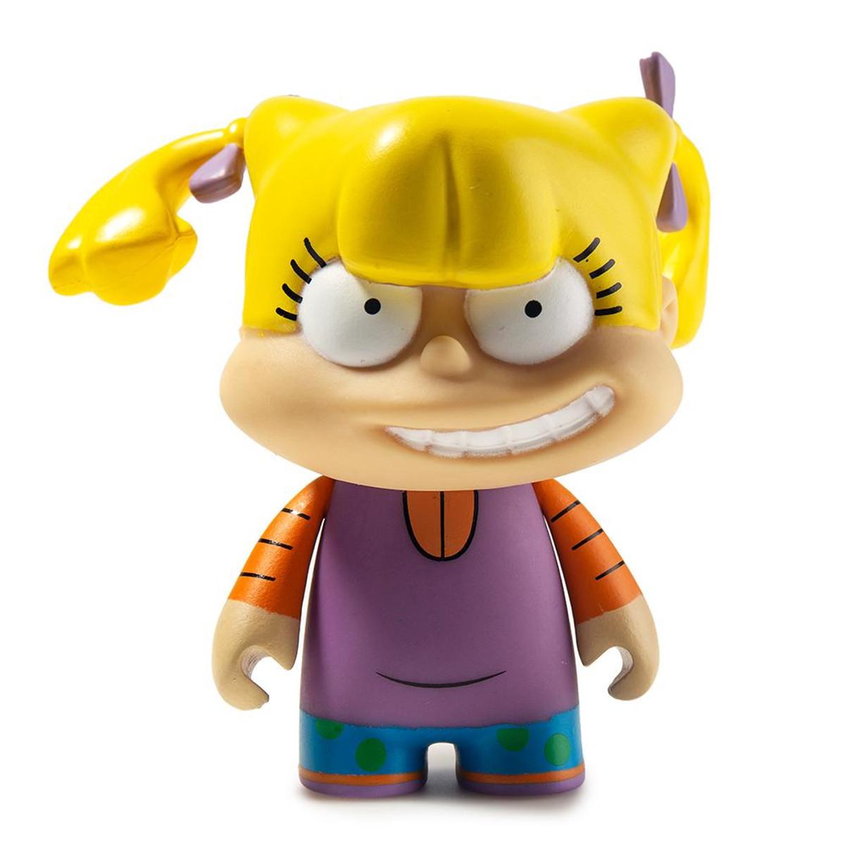 "Kidrobot x Nickelodeon Series 2 ANGELICA 3"" vinyl 2//24 rarity"