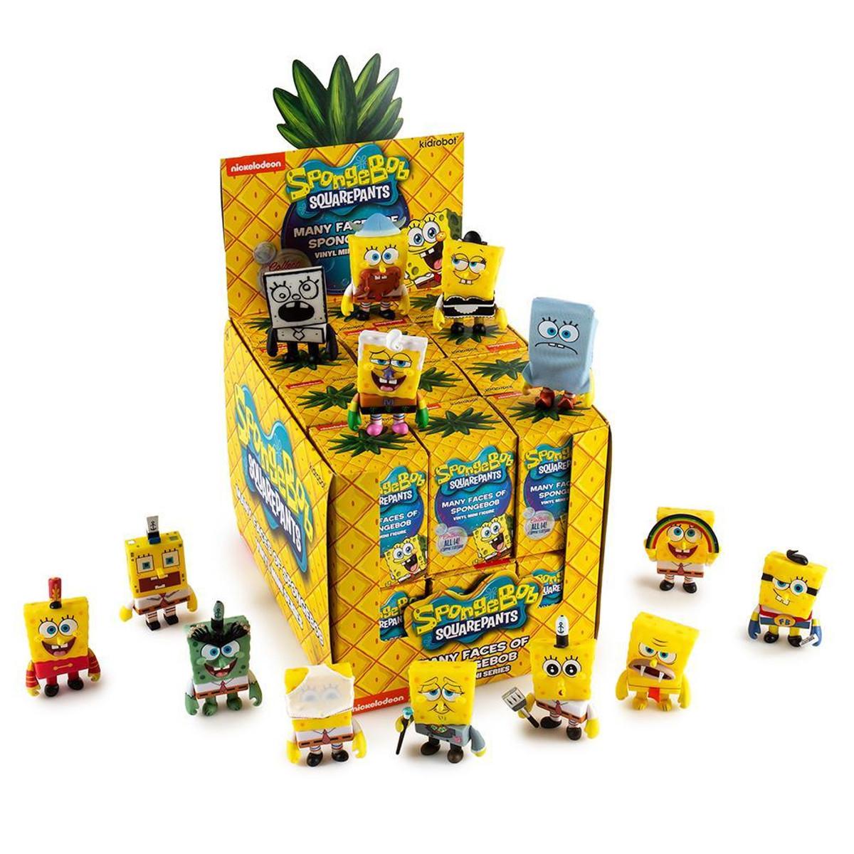 "Kidrobot x Nickelodeon SPONGEBOB 3"" vinyl 2//24 rarity"