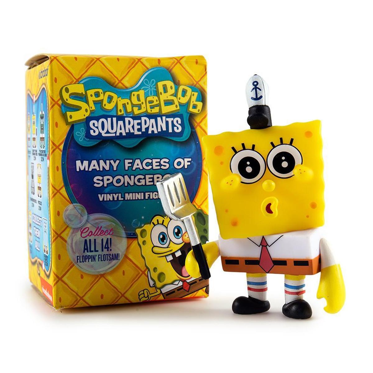 Frankendoodle Many Faces of Spongebob Mini Figure by Kidrobot
