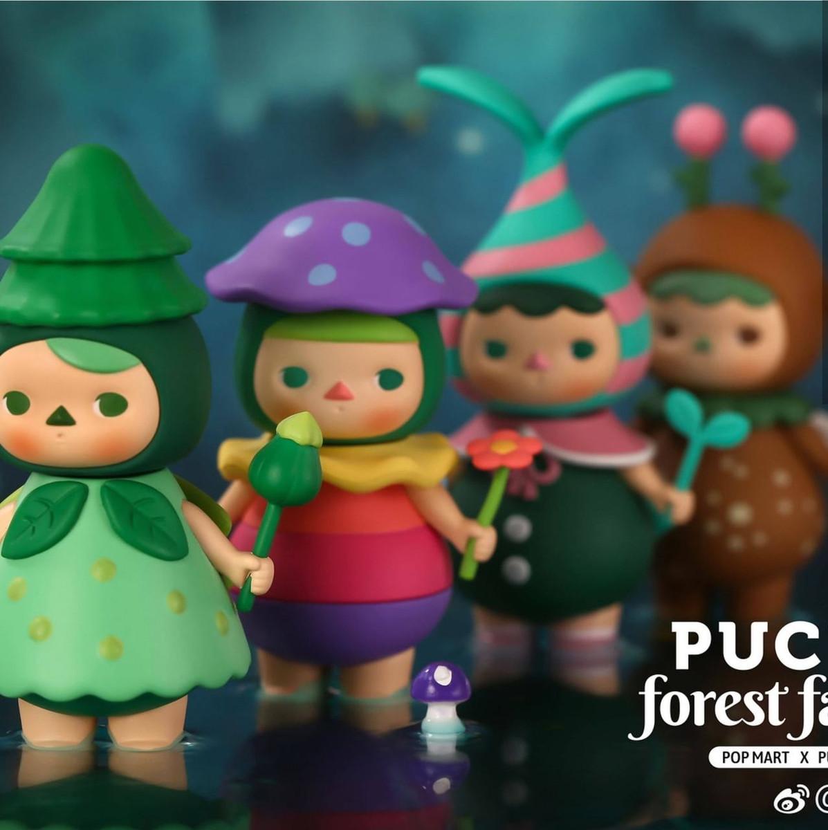 NEW Pucky x POP MART Forest Fairies Poko Fairy Figure Blind Box Designer Toy