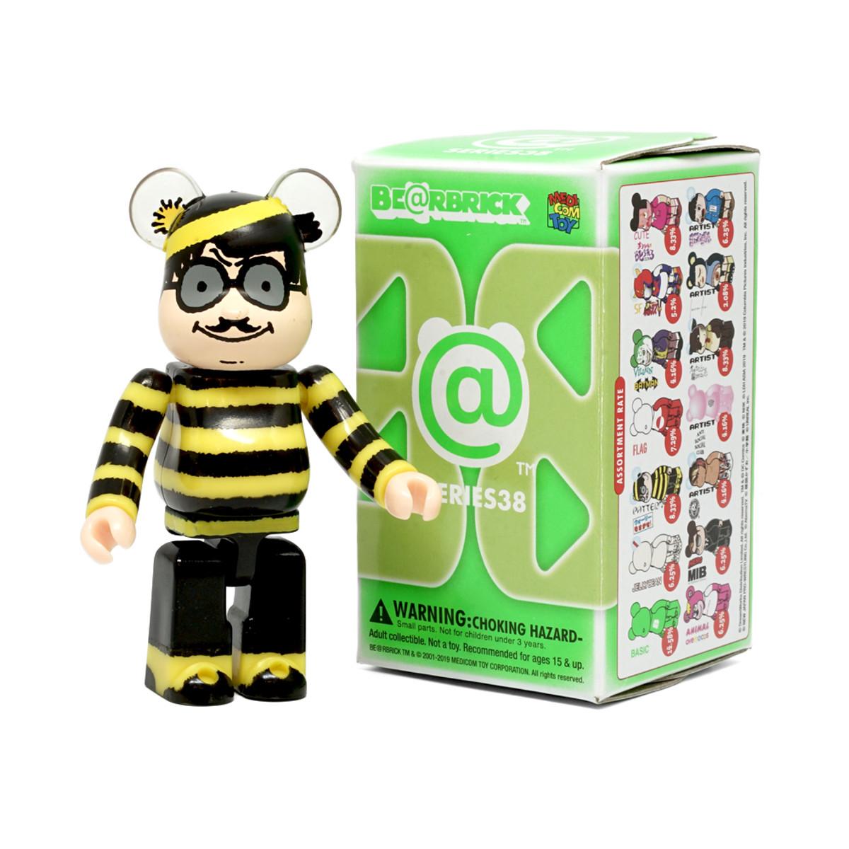 Medicom Bearbrick Be@rbrick 100/% Series 38 Basic Small B Green S38 Toy