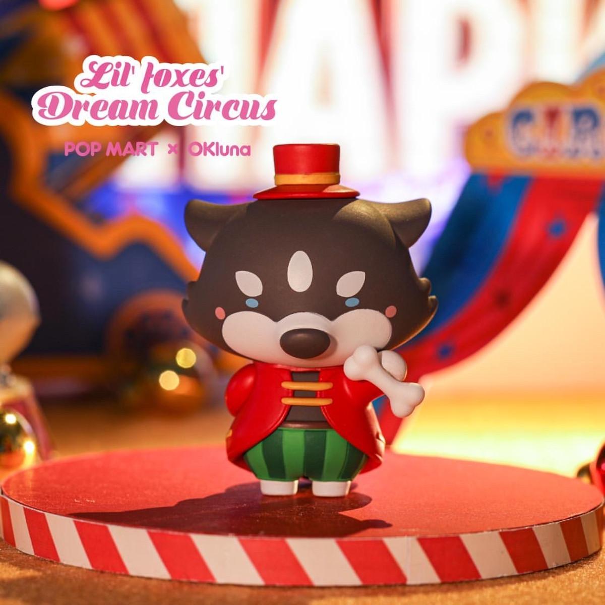 Goobi Lil Foxes Dream Circus Blind Box Series by OKLuna x POP MART