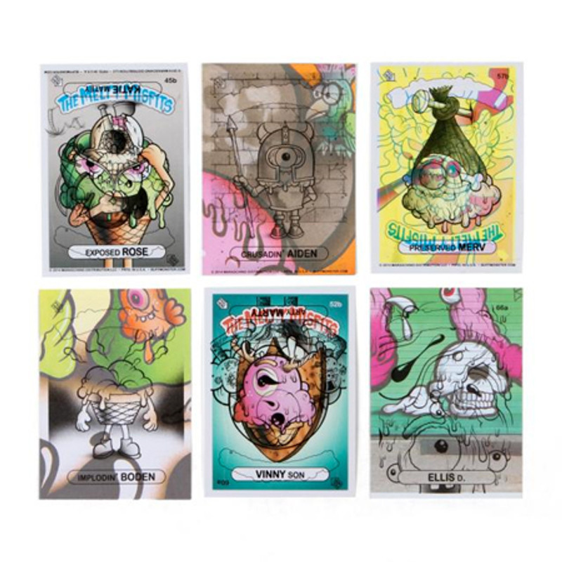The Melty Misfits 2 : Sticker Card Pack