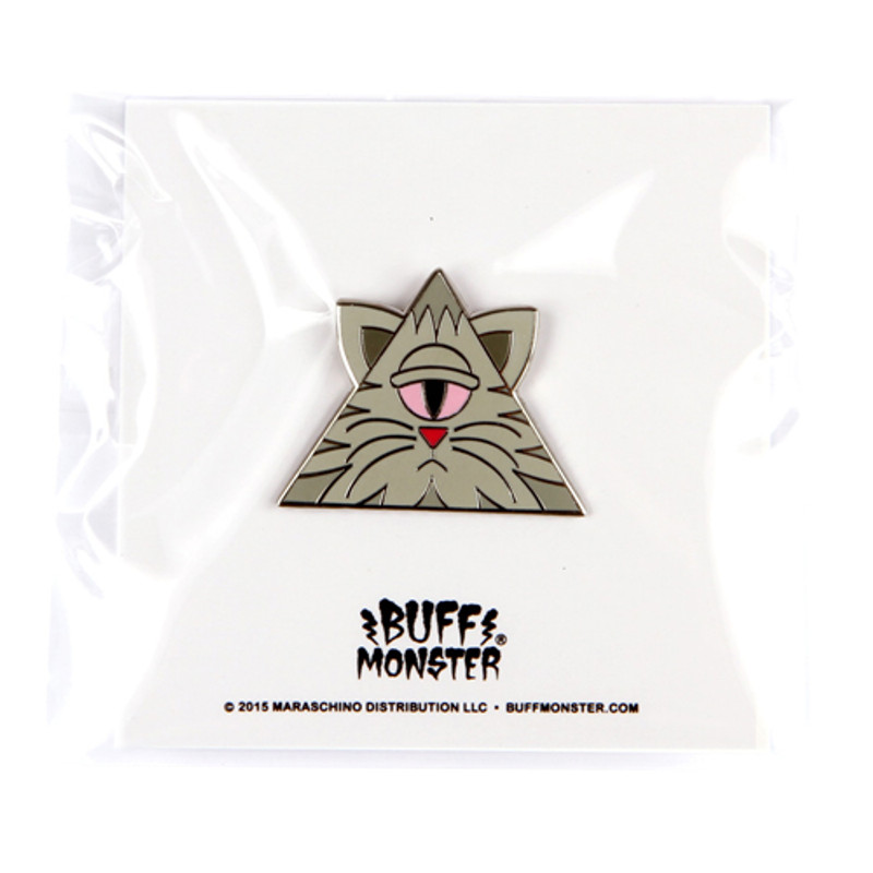 Illuminati Kitty Enamel Pin