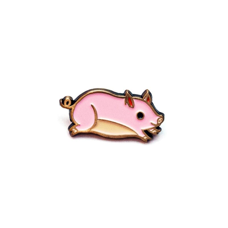 Pig Enamel Pin