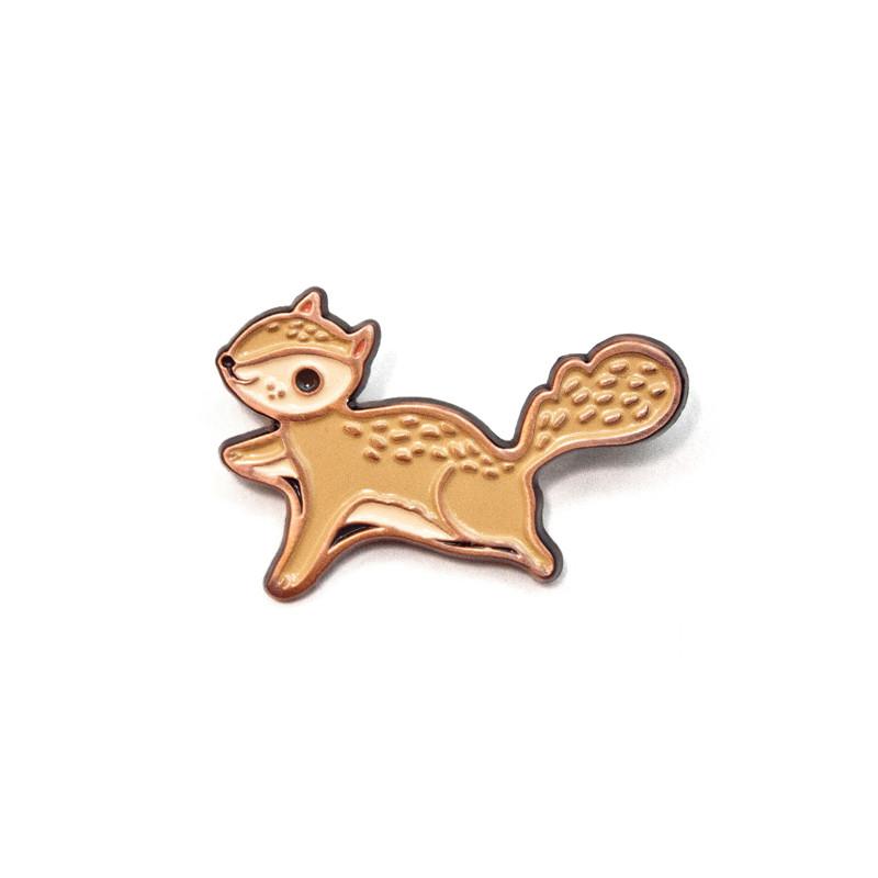 Flying Squirrel Enamel Pin