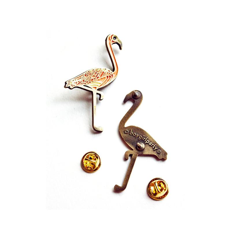 Flamingo Enamel Pin