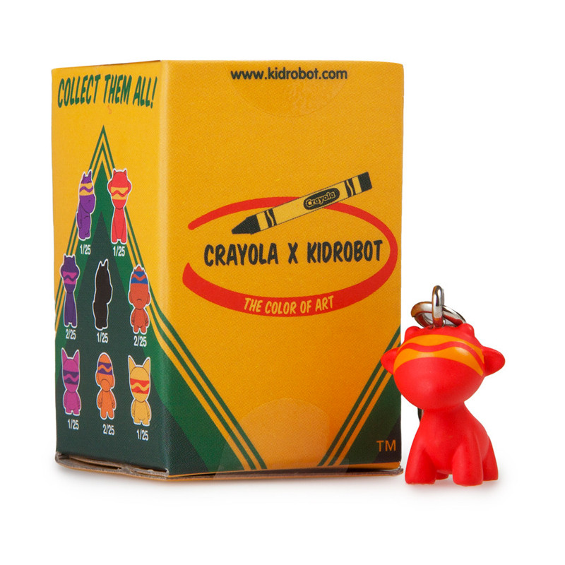 Crayola Munny Zipperpulls : Blind Box