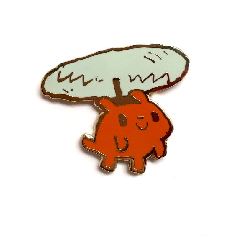 Helicopter Dog Pin