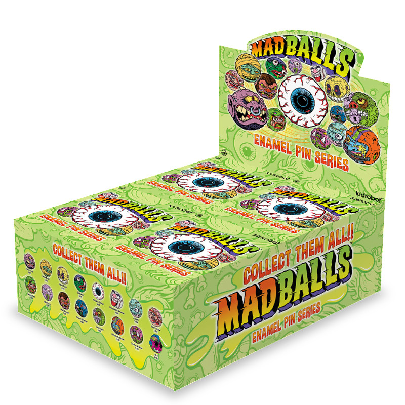 Madballs Enamel Pin Series : Blind Box