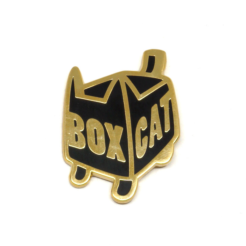 BOXCAT Enamel Pin