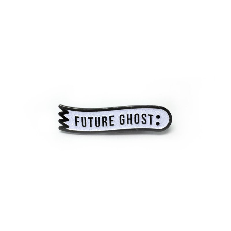 Future Ghost Pin - Glitter