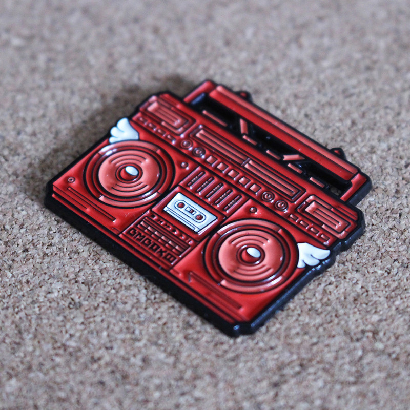 BMBOX Pin : Red