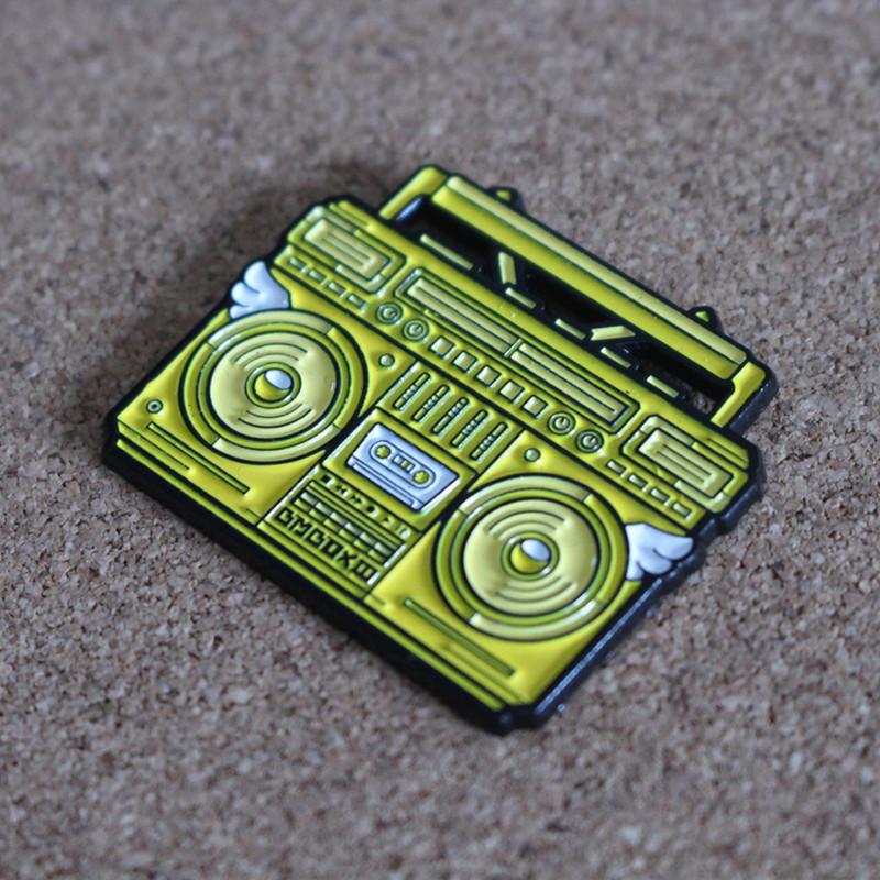 BMBOX Pin : Yellow