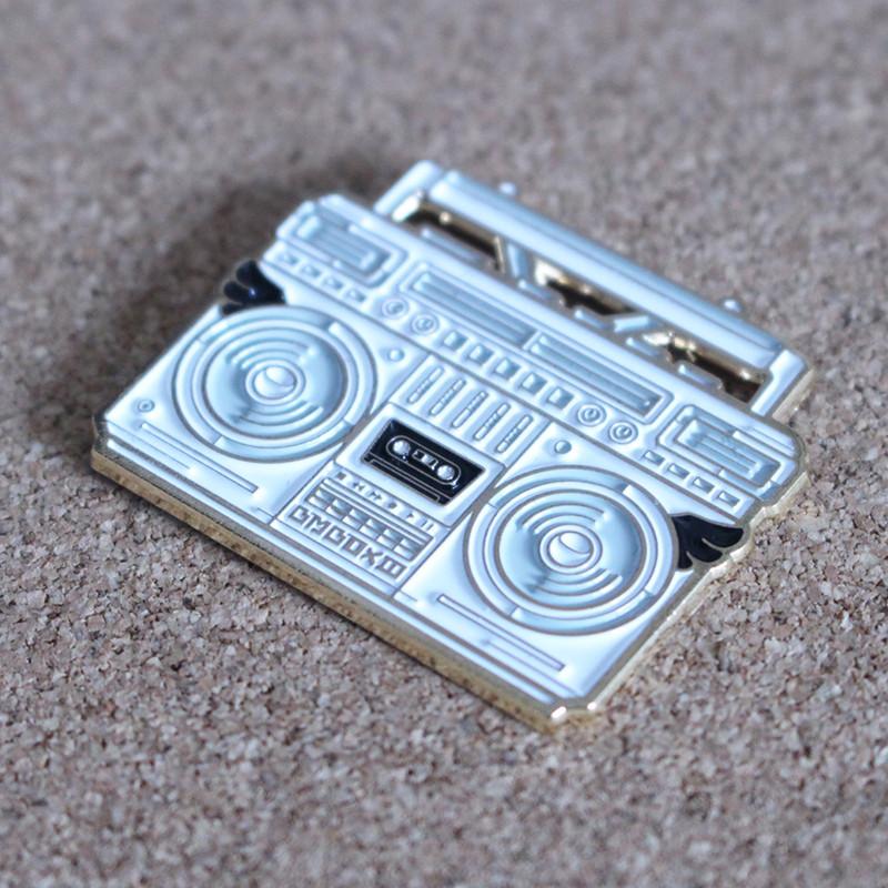 BMBOX Pin : White