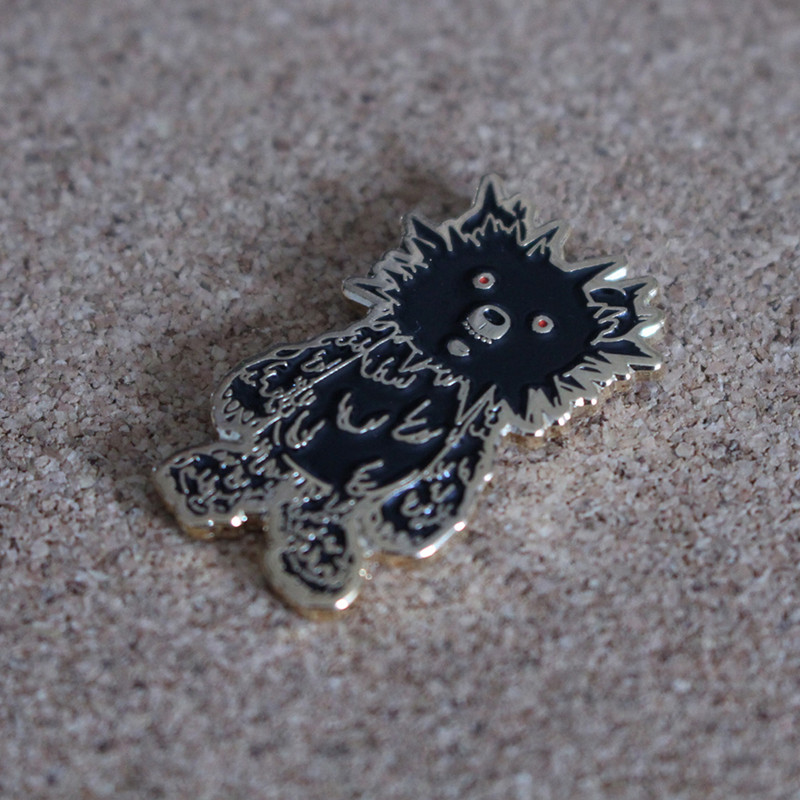 INC. Pin : Black and Gold