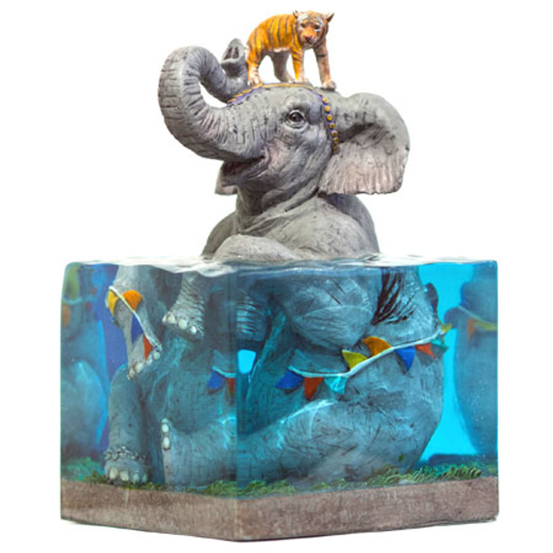 Lifted II Limited Edition Art Sculpture by Josh Keyes
