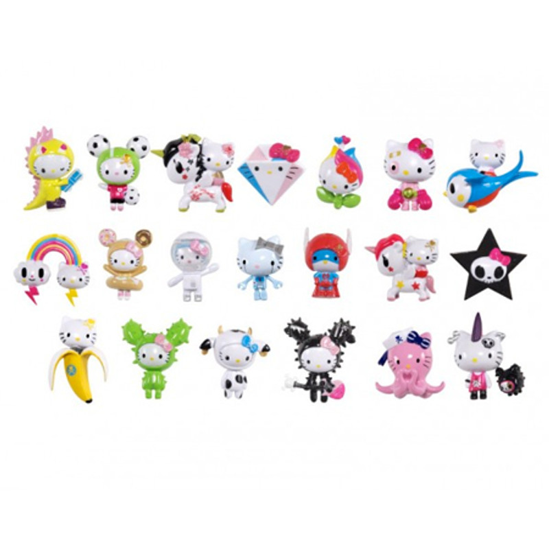 Tokidoki x Hello Kitty Frenzies : Blind Box