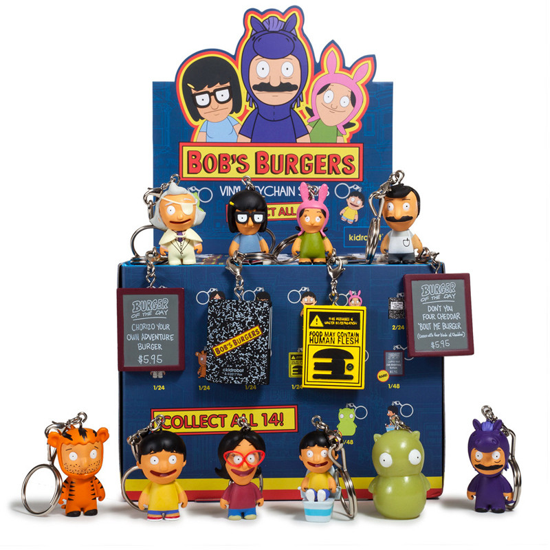 Bob's Burgers Keychains : Case of 24