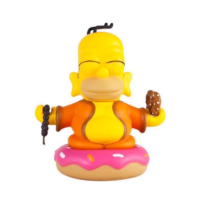 Simpsons 3inch Homer Buddha