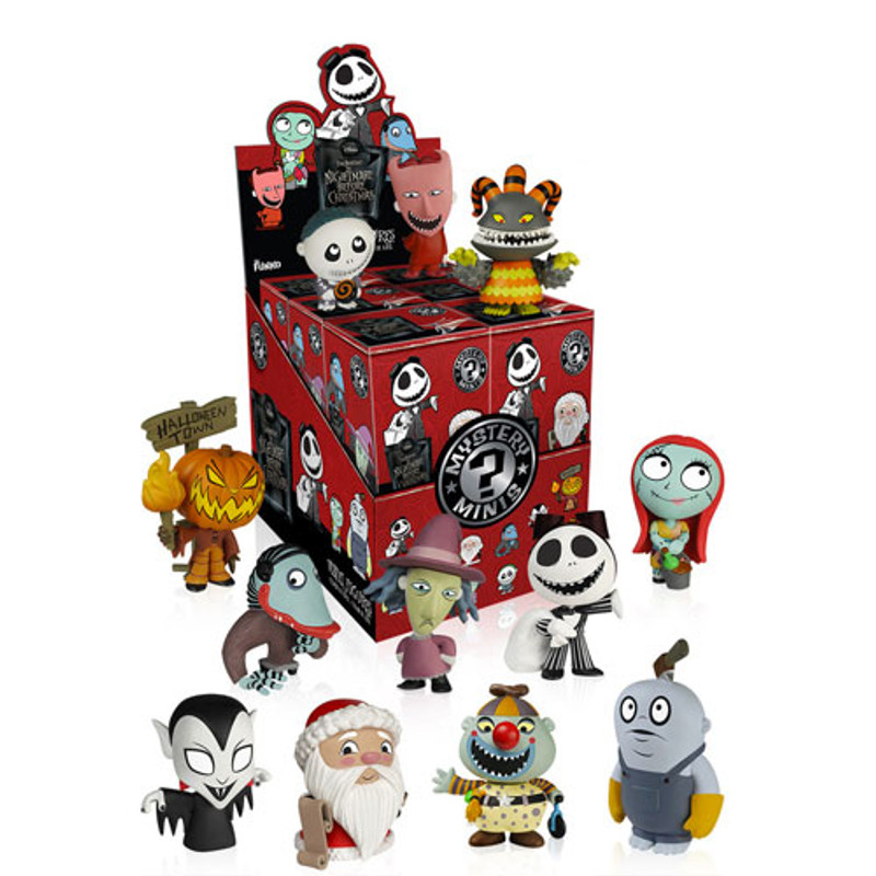 The Nightmare Before Christmas Mystery Mini Series 2 : Case of 12