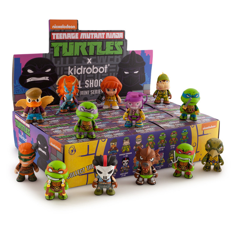 TMNT 3 inch Shell Shock Mini Series : Case of 20
