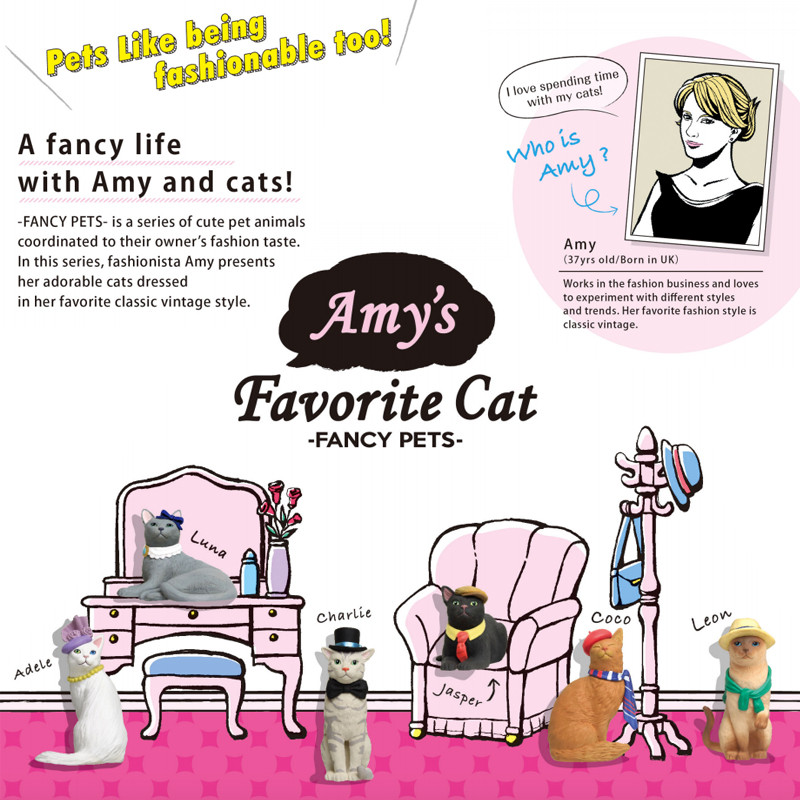 Fancy Pets : Amy's Favorite Cat Case of 12