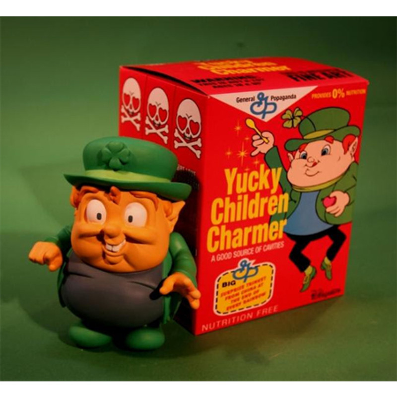 Yucky Children Charmer by Ron English