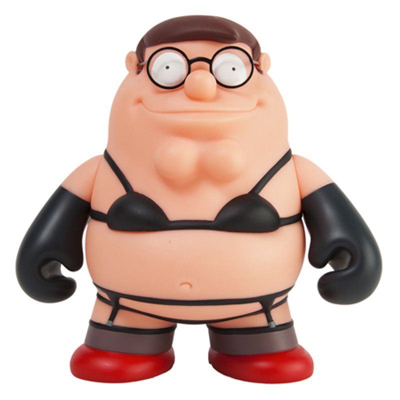 Family Guy 7 inch : Intimate Apparel Peter Griffin Black