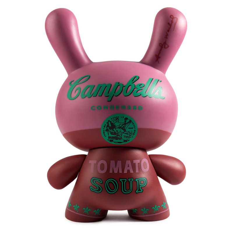 Andy Warhol 8 inch Masterpiece Dunny :  Campbells Soup Can PRE-ORDER SHIPS IN 2 WEEKS