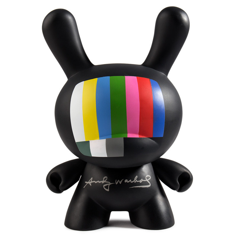 Andy Warhol 8 inch Masterpiece Dunny :  TV