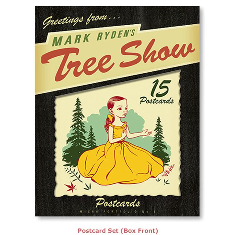 Mark Ryden's Tree Show Postcard Microportfolio