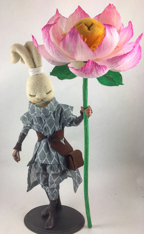 Lotus Warrior by plushPLAY and POPprolific