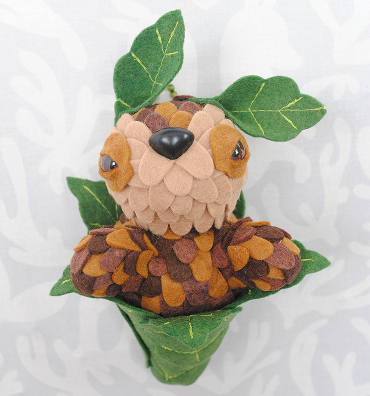Coffee Bean Leaf Peeper by Horrible Adorables