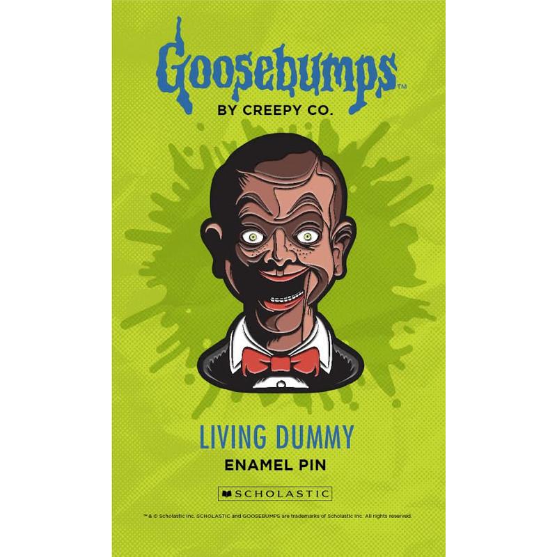 Goosebumps Living Dummy Enamel Pin
