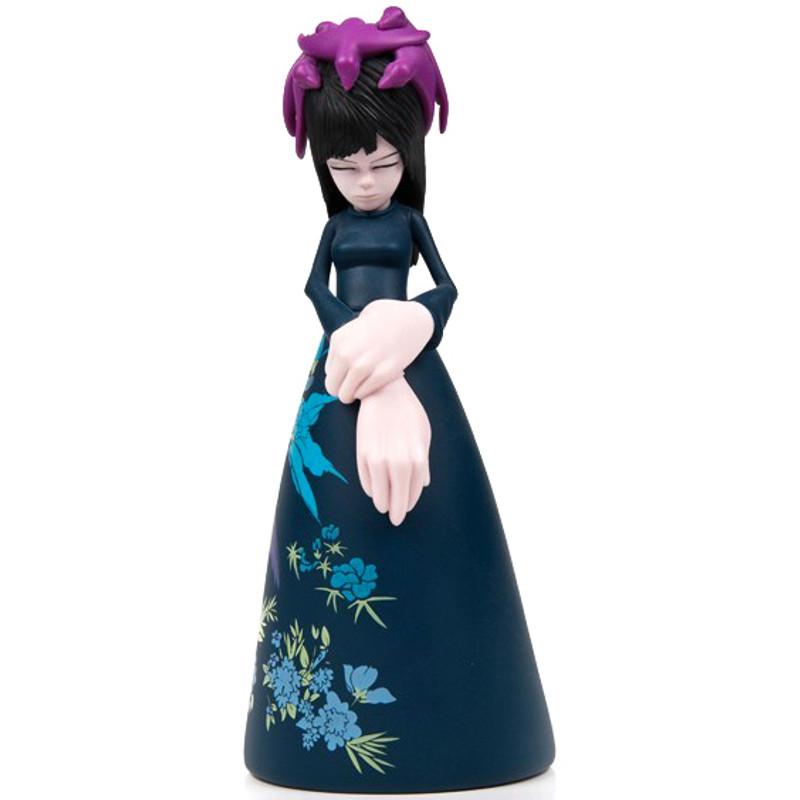 Bird Headress Fatima : Dark Blue Edition