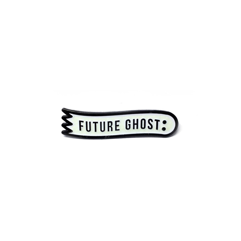 Future Ghost Pin - Glow