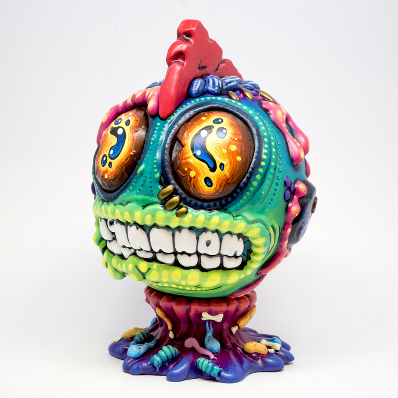 Space Virus Bothead by Remjie Malham *SOLD*